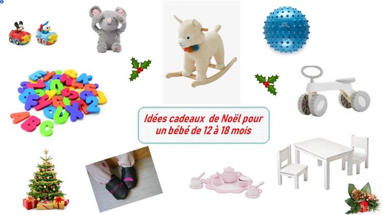 Idées cadeaux Noël pour un bébé de 12 4